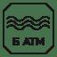 Resistencia al agua – 5 ATM