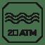 Resistencia al agua – 20 ATM